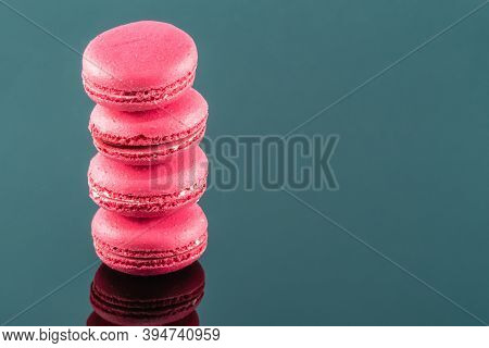 A Macaron Or French Macaroon Is A Sweet Meringue Based Confection Made With Egg White, Icing Sugar,