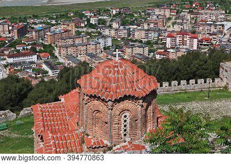 The Vintage Church Of Berat City In Albania