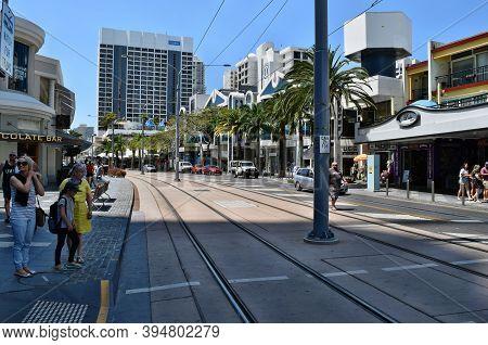 Street On The City Centrum An Amazing Gold Coast