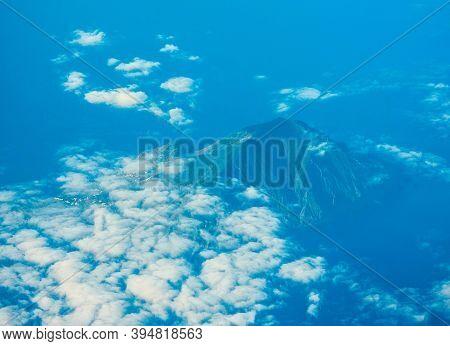 Stromboli Volcano From Above