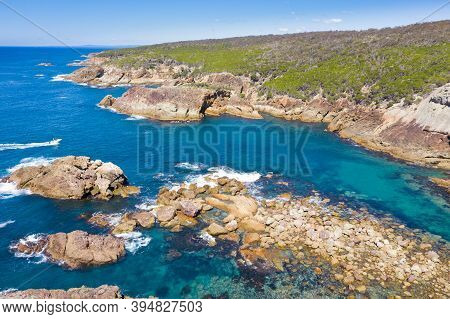 Kianinny Bay Is A Boat Launching Bay South Of Tathra On The Nsw Sapphire Coast. Tathra Is A Popular