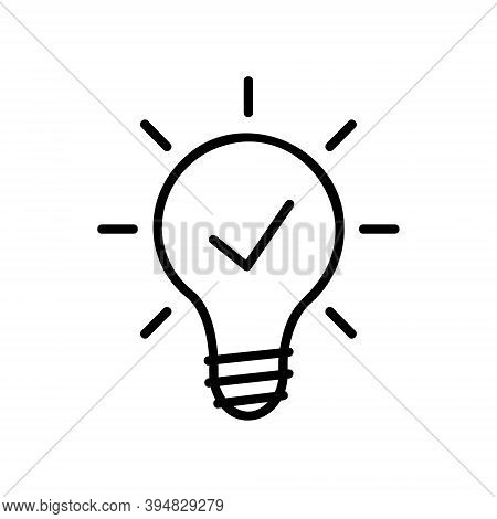 Lamp Icon Isolated On White Background From Electronic Collection. Lamp Icon Trendy And Modern Lamp