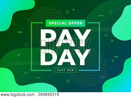 Special Offer Payday Sale Banner Template Vector.