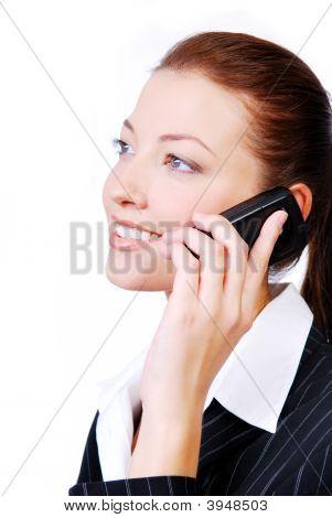 Businesswoman Speaking