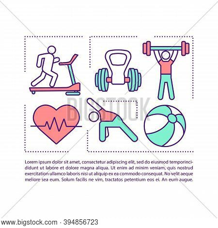 Balance Training Concept Icon With Text. Regular Exercises. Muscular Strength, Aerobic Stamina. Ppt