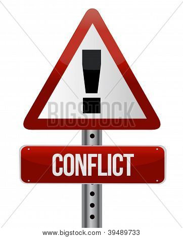 Conflict Warning Sign