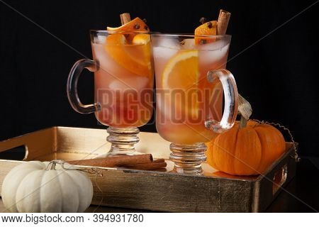 Spicy Apple Cider - Fall Drinks