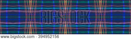 Seamless Plaid Texture. Red Picnic Fabric. Scotland Design. Abstract Checkered Flannel. Color Plaid