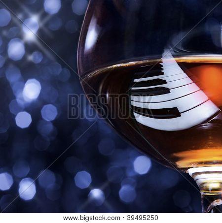 Brandy On A Piano