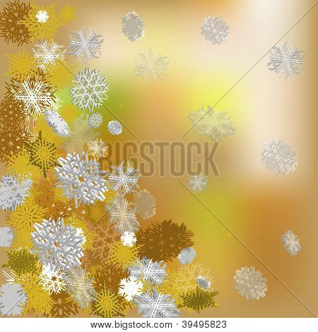 multicolored christmas background