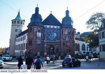 Historical Museum Of Palatinate Or Historisches Museum Der Pfalz For German People And Foreign Trave