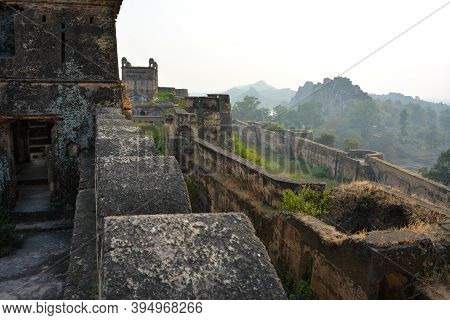 Baldeogarh Fort In Madhya Pradesh, India. Historical Place