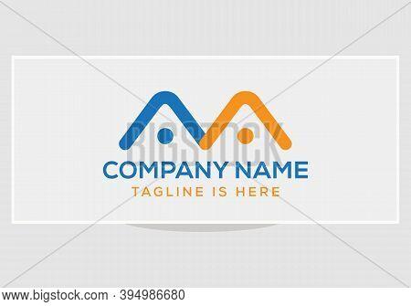 Aa Company Group Linked Letter Logo. Aa Logo Initial Letter Design. Aa Logo Initial Letter Design.