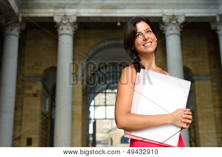 Successful Student In European College
