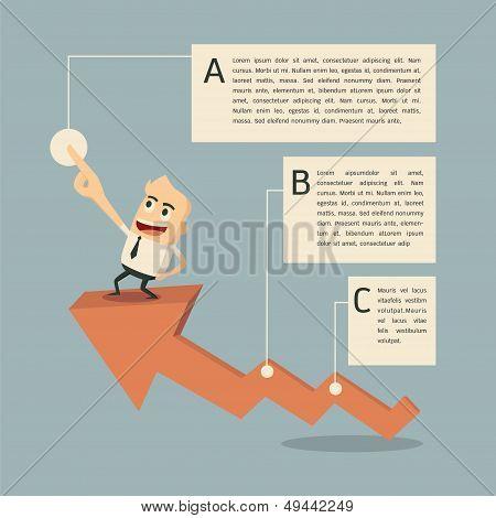 Success Graph Infographic