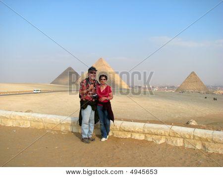 den Globus Reisen: die Pyramiden