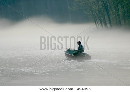 Foggy Fishing 1