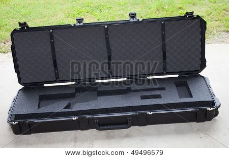 Empty Rifle Case