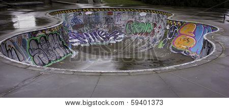 Skateboard board art