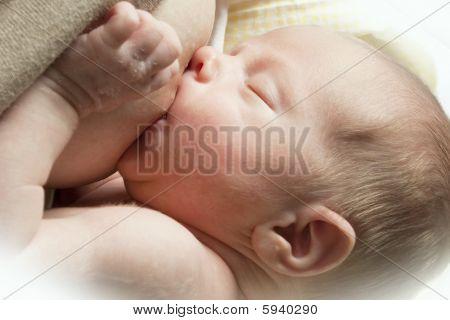 Nursing baby