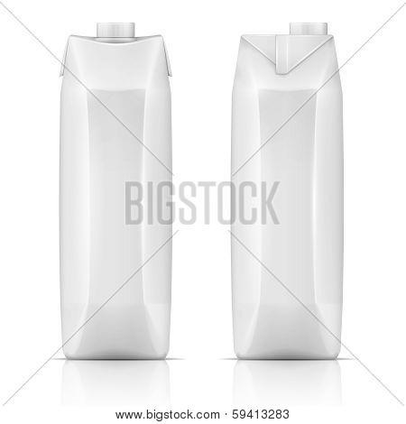 Juice drink carton pack.