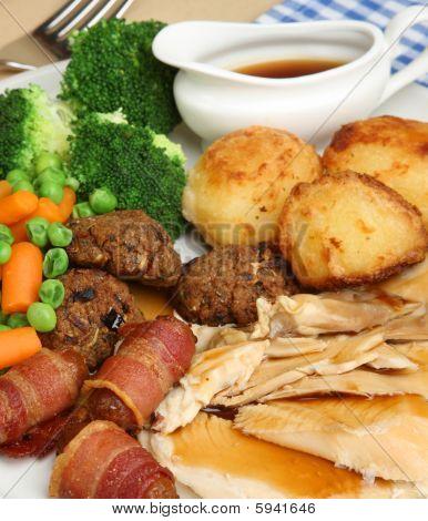 Sunday Roast Chicken Lunch