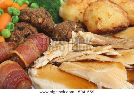 Sunday Roast Chicken Dinner