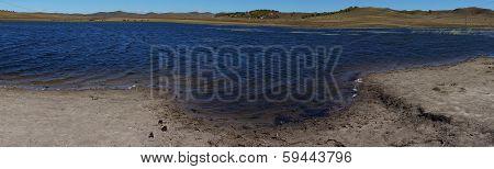 Beautiful lake in highland, Ulanbutong, Inner Mongolia, China