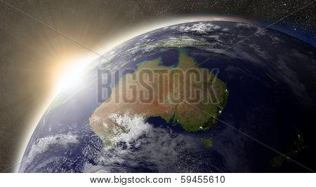 Sun Over Australia