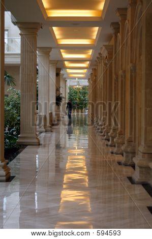 Beige Corridor In Greater Shop