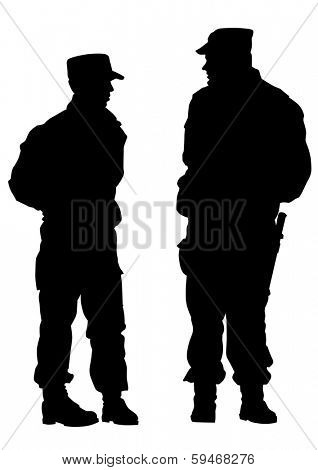 People of special police force poster