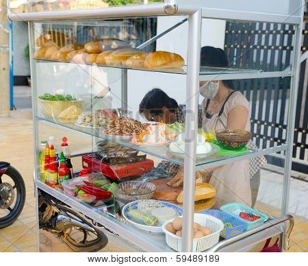 Fast Food Stand, Vietnam