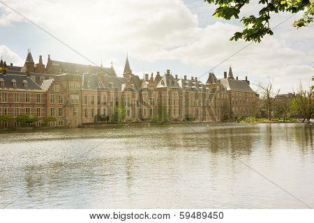 Dutch Parliament at morning, The Hague
