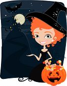 a lot of sweet halloween candy backgrounds to use in this special ocassion poster