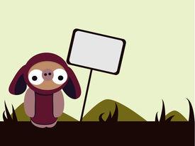 Doobiez With Sign In Simple Landscape