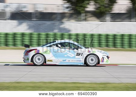 Peugeot Rcz Cup Race Car