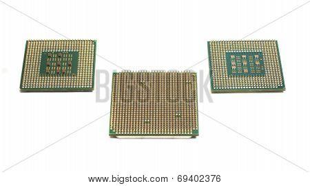 Three Computer Processors