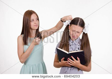 Teacher Student Knocks On The Head