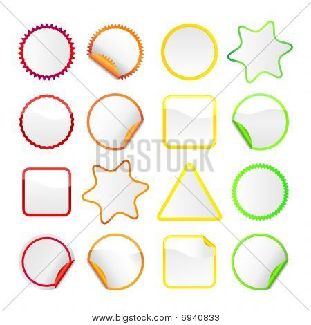 Bright stickers Set 4 - Borders