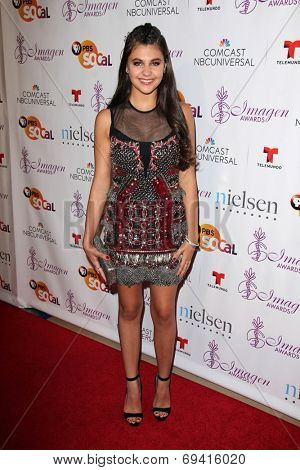 LOS ANGELES - AUG 1:  Amber Montana at the Imagen Awards at the Beverly Hilton Hotel on August 1, 2014 in Los Angeles, CA