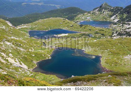Twin And Fish Lakes