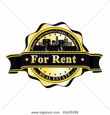 Elegant Real Estate / Letting Agency - For Rent- stamp