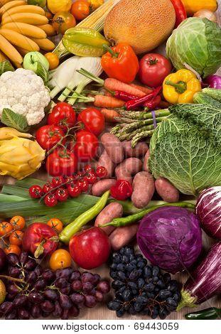 Natural food background