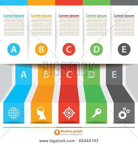Modern Banner Infographic