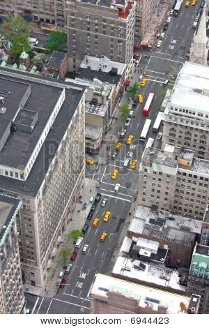 New York Avenue From Above