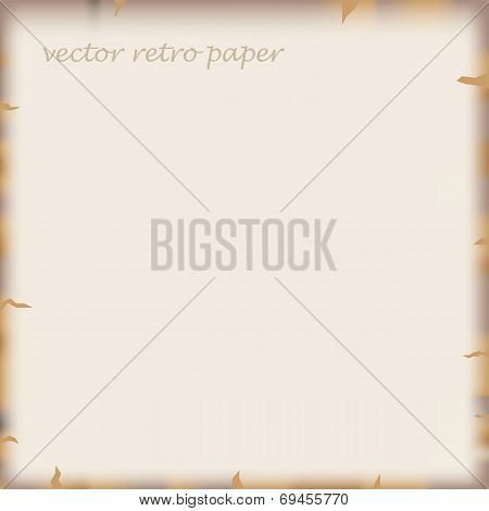 vector old paper