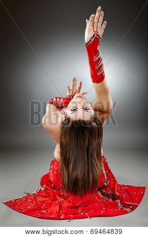Bellydancer In Action