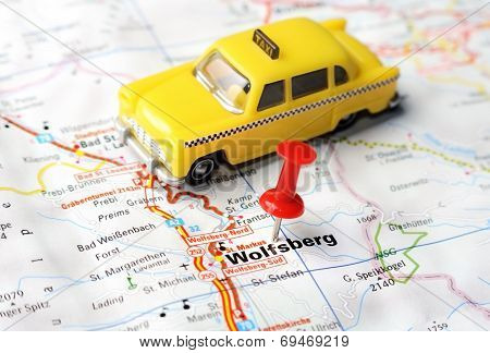 Wolfsberg,austria Map Taxi