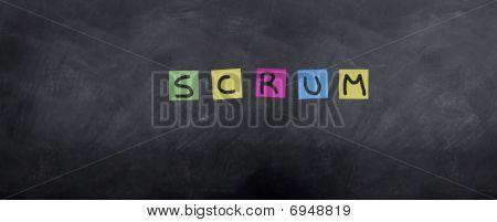 Scrum Post It's