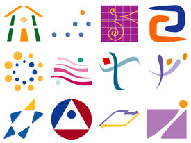 Various Abstract Vector Icon Design Elements